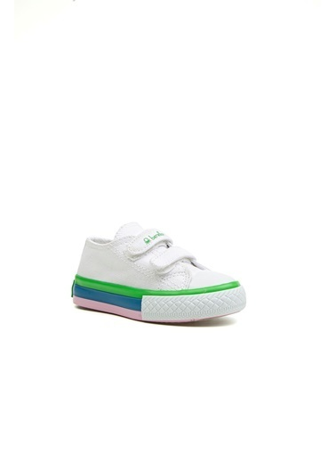 Benetton Bn30274 Çocuk Spor Ayakkabı Beyaz